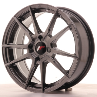JR21 7x17 5x110 ET25-40 HYPER BLACK