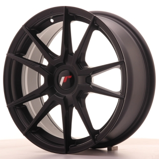 JR21 7x17 5x110 ET25-40 MATT BLACK