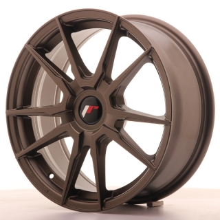 JR21 7x17 5x120 ET25-40 MATT BRONZE