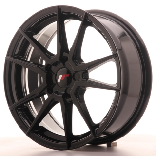 JR21 7x17 5x115 ET35-40 GLOSS BLACK