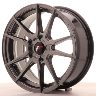 JR21 7x17 5x110 ET35-40 HYPER BLACK