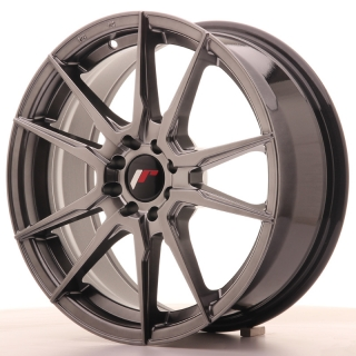 JR21 7x17 5x108/112 ET40 HYPER BLACK
