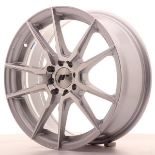 JR21 7x17 5x108/112 ET40 SILVER MACHINED