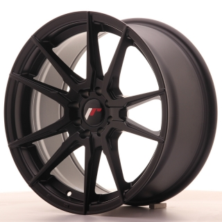 JR21 8x17 4x100/108 ET25 MATT BLACK