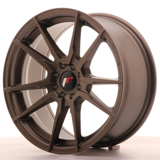 JR21 8x17 4x100/108 ET25 MATT BRONZE