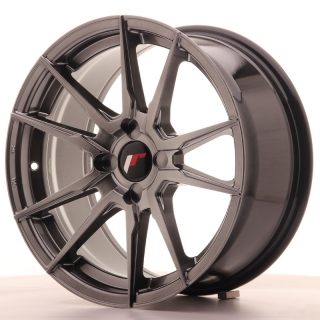 JR21 8x17 4x100 ET25-35 HYPER BLACK