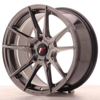 JR21 8x17 5x110 ET35 HYPER BLACK