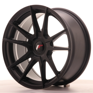 JR21 8x17 4x100 ET35 MATT BLACK