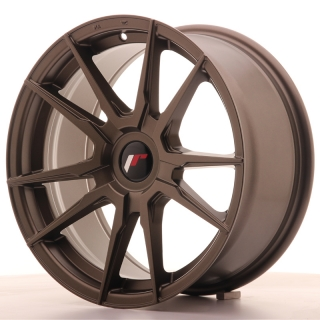 JR21 8x17 5x110 ET35 MATT BRONZE