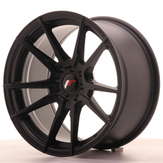 JR21 9x17 4x100/114,3 ET20 MATT BLACK