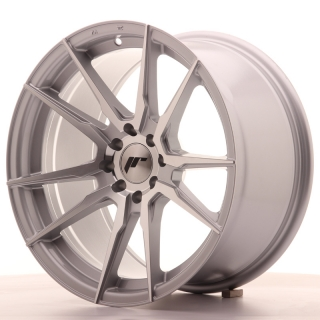 JR21 9x17 4x100/114,3 ET20 SILVER MACHINED