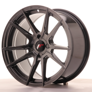 JR21 9x17 4x100 ET25-35 HYPER BLACK