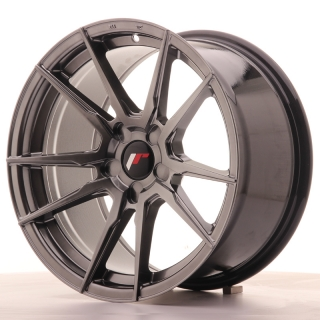 JR21 9x17 5x115 ET25-35 HYPER BLACK