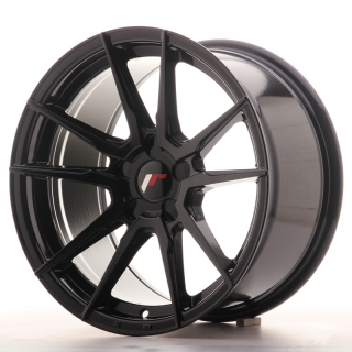 JR21 9x17 4x100 ET25-35 GLOSS BLACK