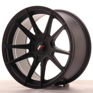 JR21 9x17 5x120 ET25-35 MATT BLACK