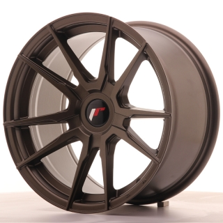 JR21 9x17 4x100 ET25-35 MATT BRONZE
