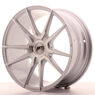 JR21 8,5x18 5x110 ET30-40 SILVER MACHINED