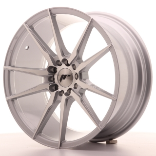 JR21 8,5x18 5x112/114,3 ET40 SILVER MACHINED
