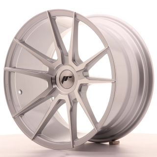 JR21 9,5x18 5x100 ET20-40 SILVER MACHINED