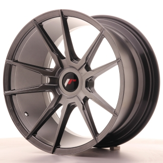 JR21 9,5x18 5x100 ET30-40 HYPER BLACK