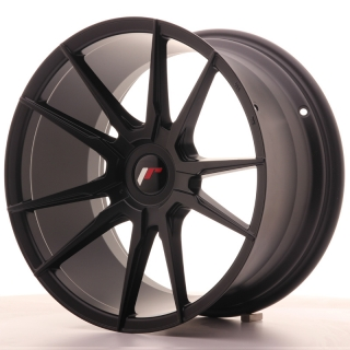 JR21 9,5x18 4x114,3 ET30-40 MATT BLACK