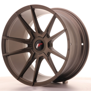 JR21 9,5x18 5x108 ET30-40 MATT BRONZE
