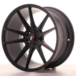 JR21 9,5x18 5x112/114,3 ET40 MATT BLACK