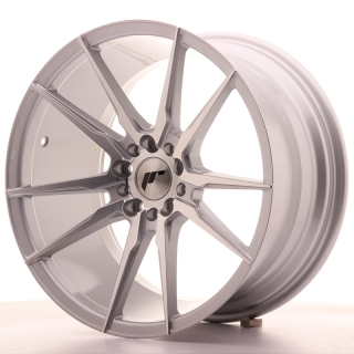 JR21 9,5x18 5x112/114,3 ET40 SILVER MACHINED