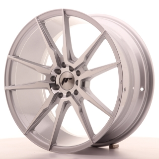 JR21 8,5x19 5x100/120 ET35 SILVER MACHINED