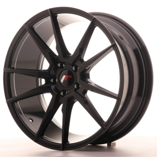 JR21 8,5x19 5x100 ET35-40 GLOSS BLACK