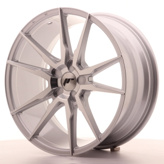 JR21 8,5x19 5x100 ET35-40 SILVER MACHINED