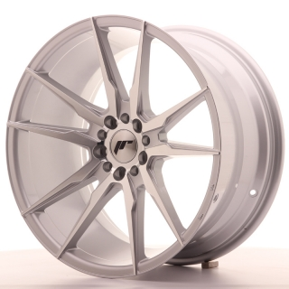 JR21 9,5x19 5x100/120 ET35 SILVER MACHINED