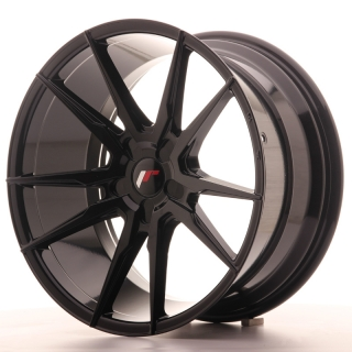 JR21 9,5x19 5x100 ET35-40 GLOSS BLACK