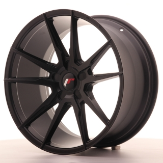 JR21 9,5x19 5H BLANK ET35-40 MATT BLACK