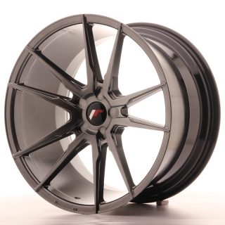 JR21 11x20 5x108 ET30-50 HYPER BLACK