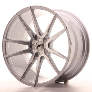 JR21 11x20 5x120 ET30-50 SILVER MACHINED