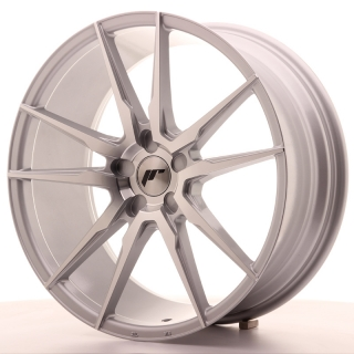 JR21 8,5x20 5H BLANK ET20-40 SILVER MACHINED