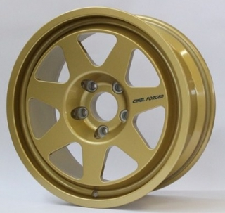 CINEL FORGED type M3 8x17 5x120 ET11,5 GOLD 9,3kg