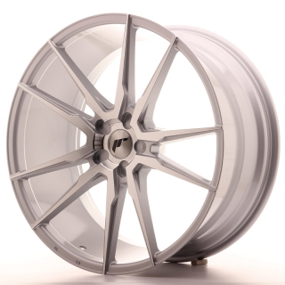 JR21 10,5x22 5x110 ET15-50 SILVER MACHINED