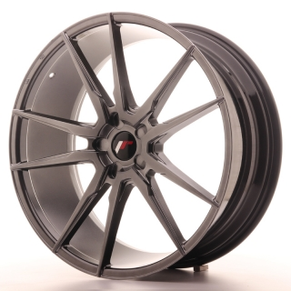 JR21 9x22 5x112 ET30-45 HYPER BLACK