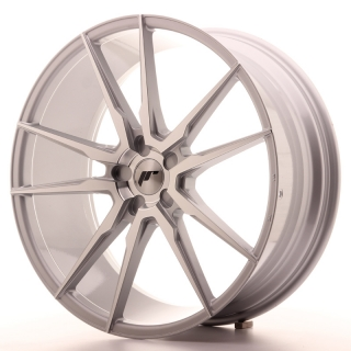 JR21 9x22 5x110 ET30-45 SILVER MACHINED