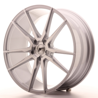 JR21 9,5x22 5H BLANK ET30-45 SILVER MACHINED
