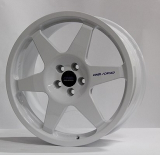 CINEL FORGED type WRC 8x18 4x100 ET51 SILVER 9,4kg