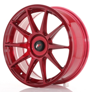 JR11 7,5x18 4x114,3 ET35-40 PLATINUM RED