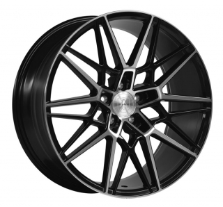 AXE CF1 10,5x20 5x112 ET25 GLOSS BLACK / POLISHED FACE
