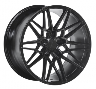 AXE CF1 11x20 5x130 ET48 GLOSS BLACK