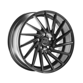 1AV ZX1 8x18 5x105 ET42 SATIN BLACK