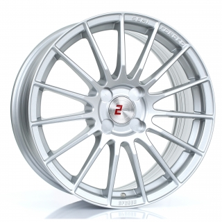 2FORGE ZF1 8x17 4x98 ET10-58 SILVER