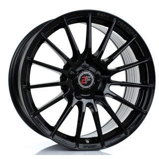 2FORGE ZF1 9x17 5x108 ET10-50 GLOSS BLACK