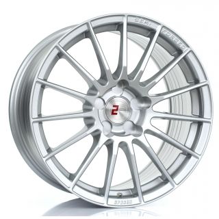 2FORGE ZF1 9,5x17 5x108 ET0-45 SILVER
